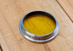 Leica E36 Filter - Yellow 2 (Chrome) for Summitar 5cm