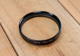 Leica E46 Filter - UVa (Black) #13004