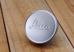 Leica E39 / 39mm Lens Front Cap (Chrome / Metal)