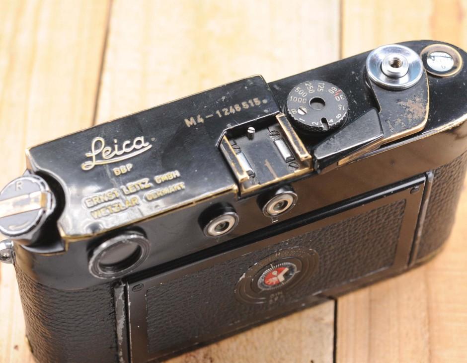 Leica M4 Black Paint Original #1207xxx