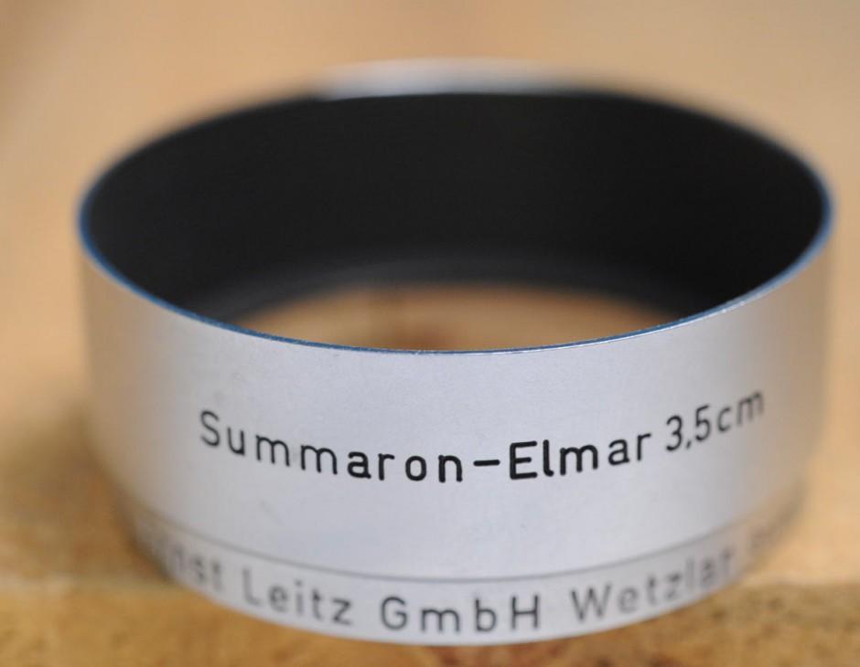 Leica Lens Hood... Summaron